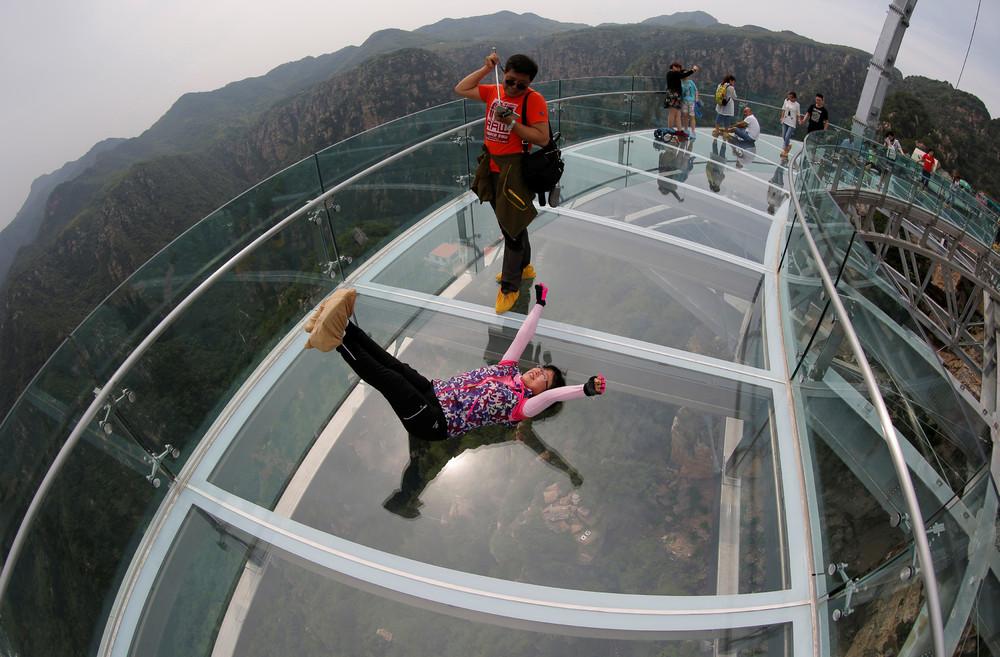 Стеклянные мосты в Китае