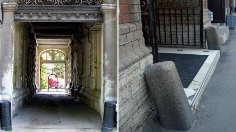 Столбы в Санкт-Петербурге