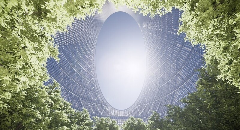 Проект здания в Китае
