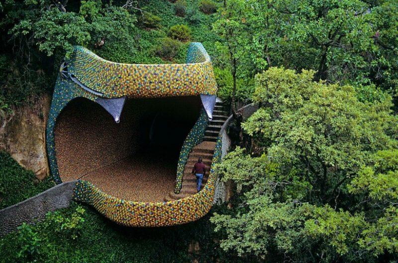Необычный дом в Мексике