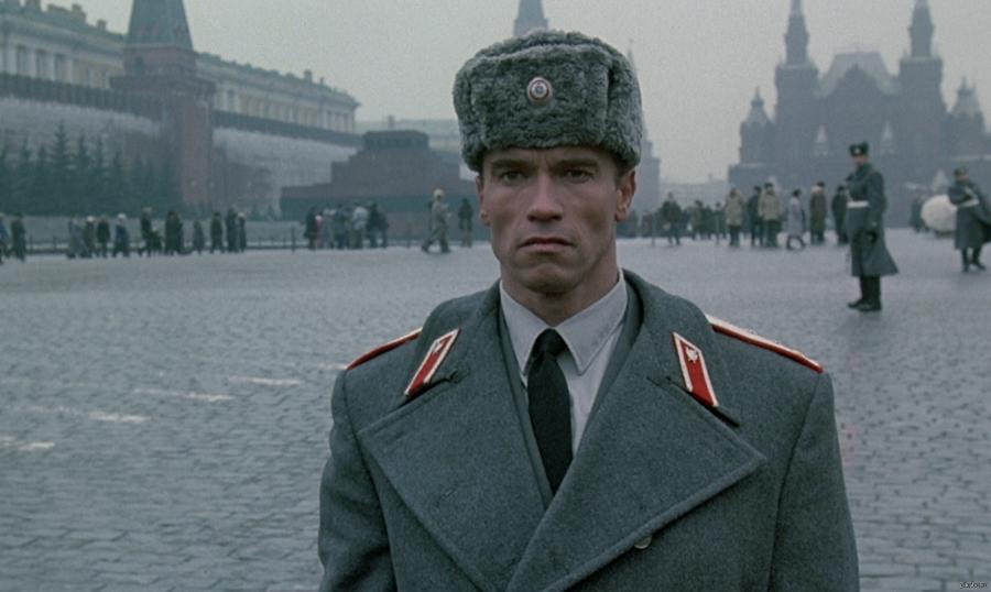 Места России в иностранных фильмах