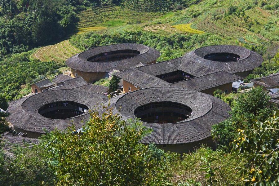 Круглые дома в Китае