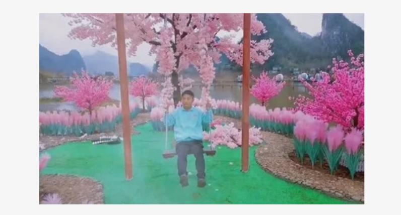 Остров любви в Китае