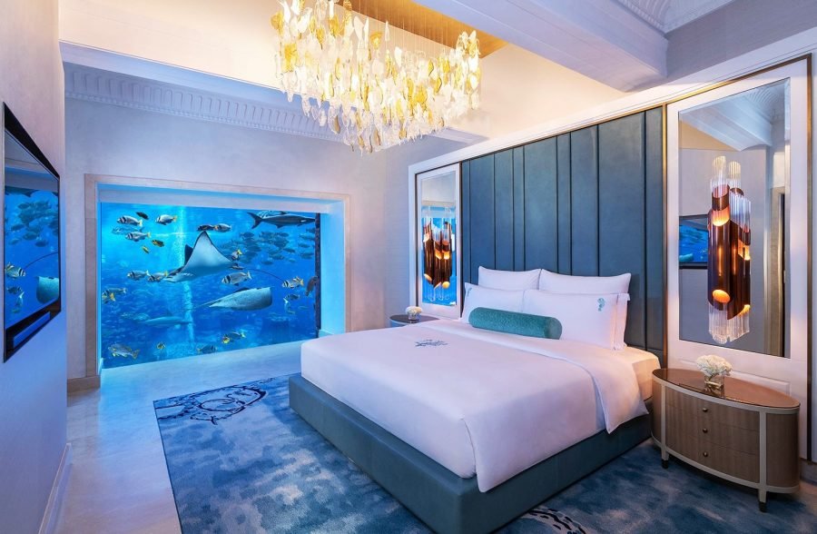 Atlantis the Palm 5 под водой в Дубае