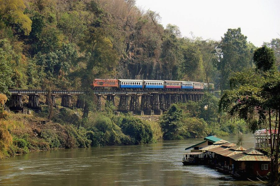 Железная дорога через реку Квай