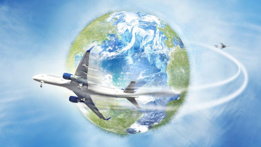 Обогнуть Землю на самолете за один полет