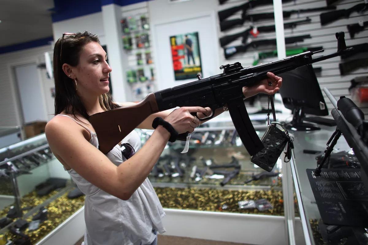 Оружие в магазине США