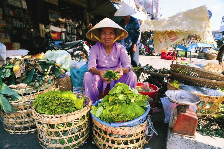 Продавец во Вьетнаме