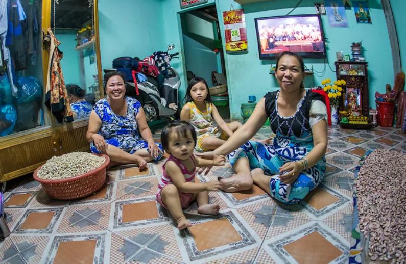 Жители Вьетнама