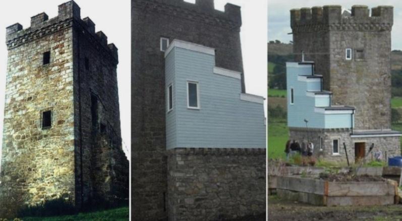Башня в замке Колдуэлл