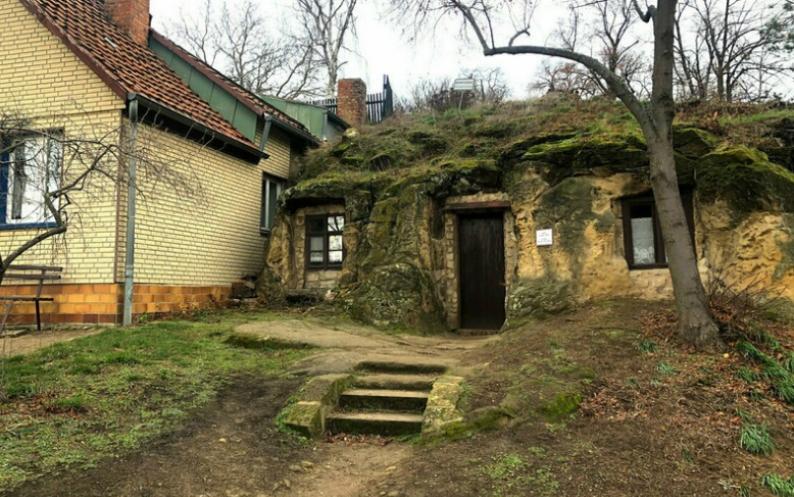 Пещерные дома Германии