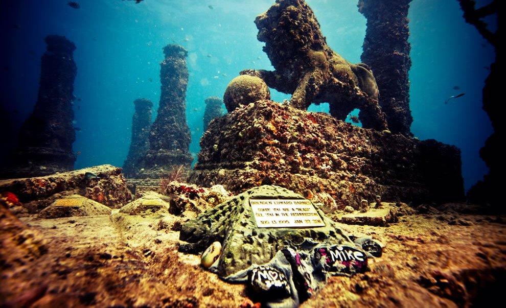 Древние города под водой