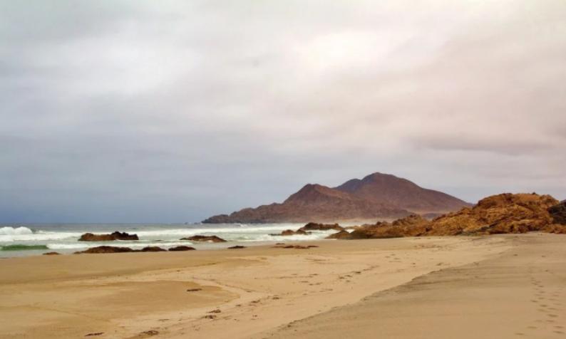 На пляжах Америки со стороны Тихого океана