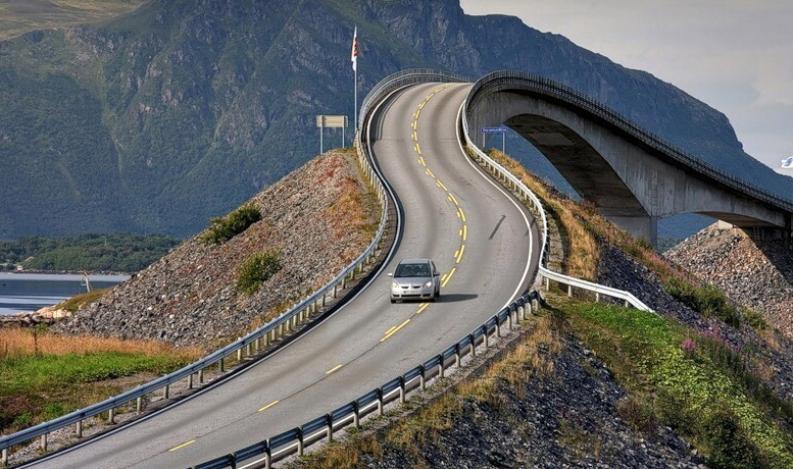 Дорога в Европе