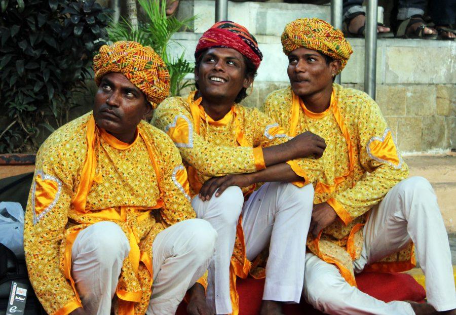Мужчины в Индии