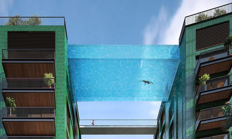 Прозрачный бассейн