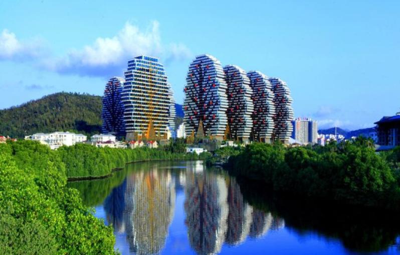 Дома-деревья в Китае