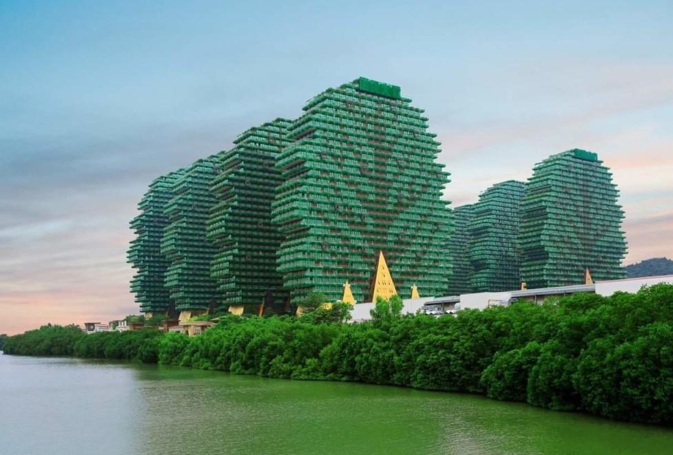 Небоскребы-деревья в Китае