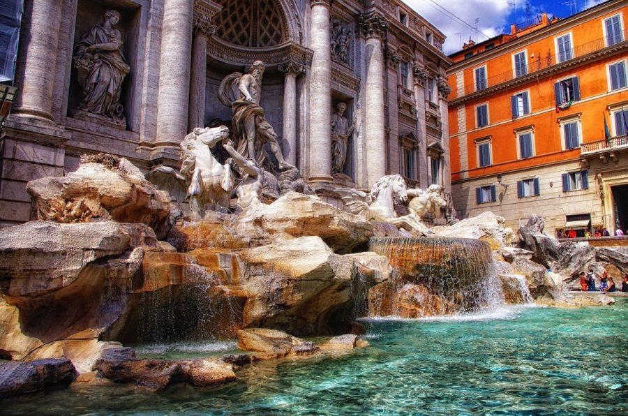 Фонтан в Италии