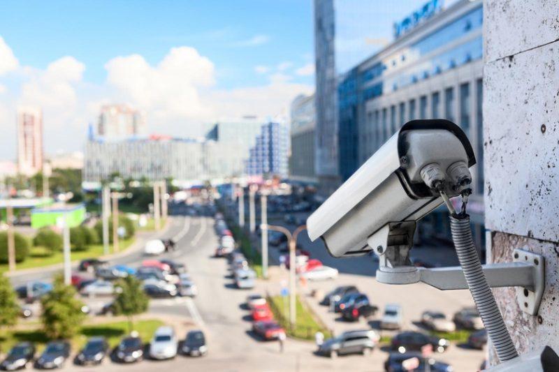 Камеры видеонаблюдения в России