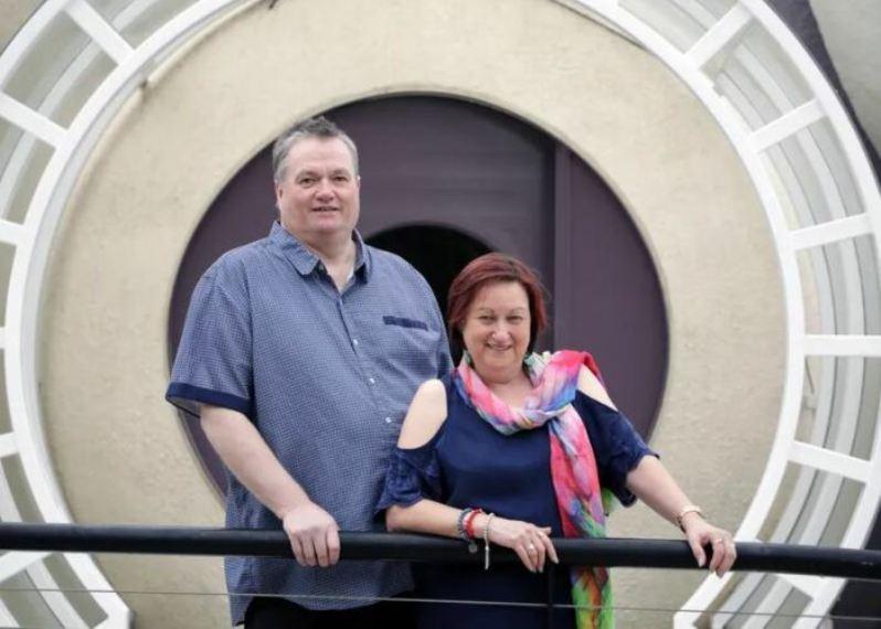 Грэм Бирчелл с супругой