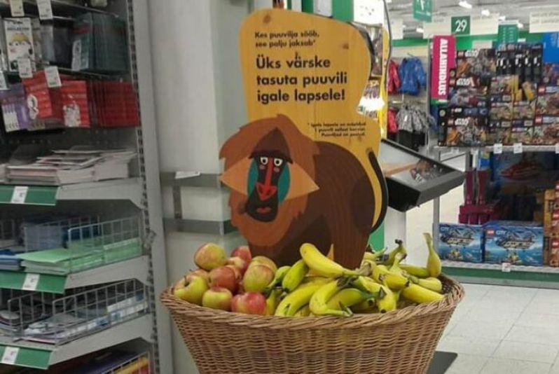 Бесплатные фрукты для детей