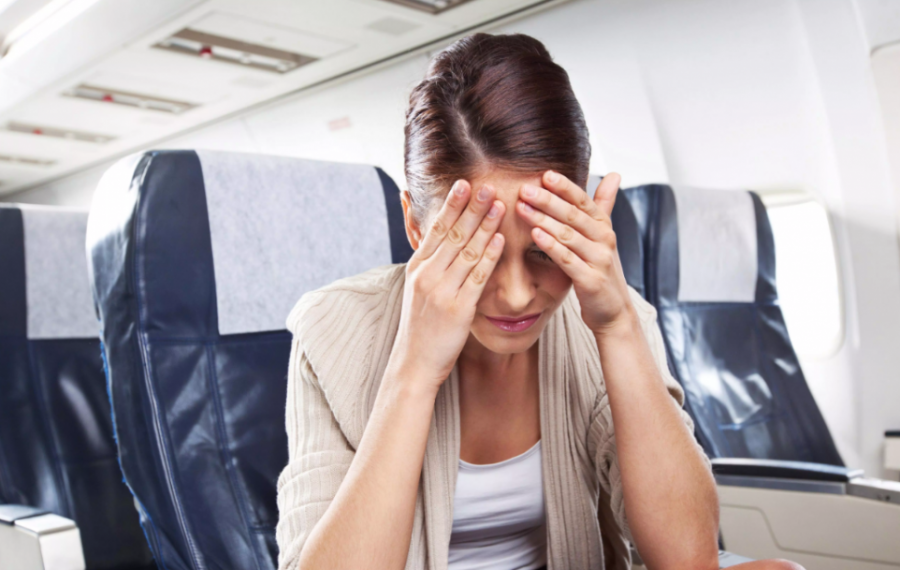 Плаксивость в самолете