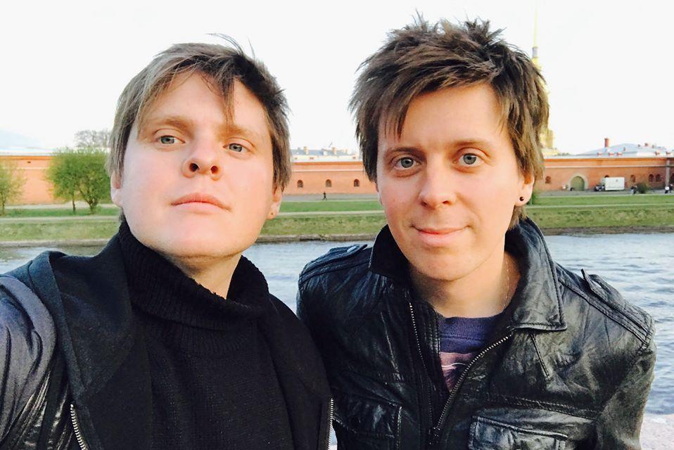 Александр Жданов и Михаил Зарубин