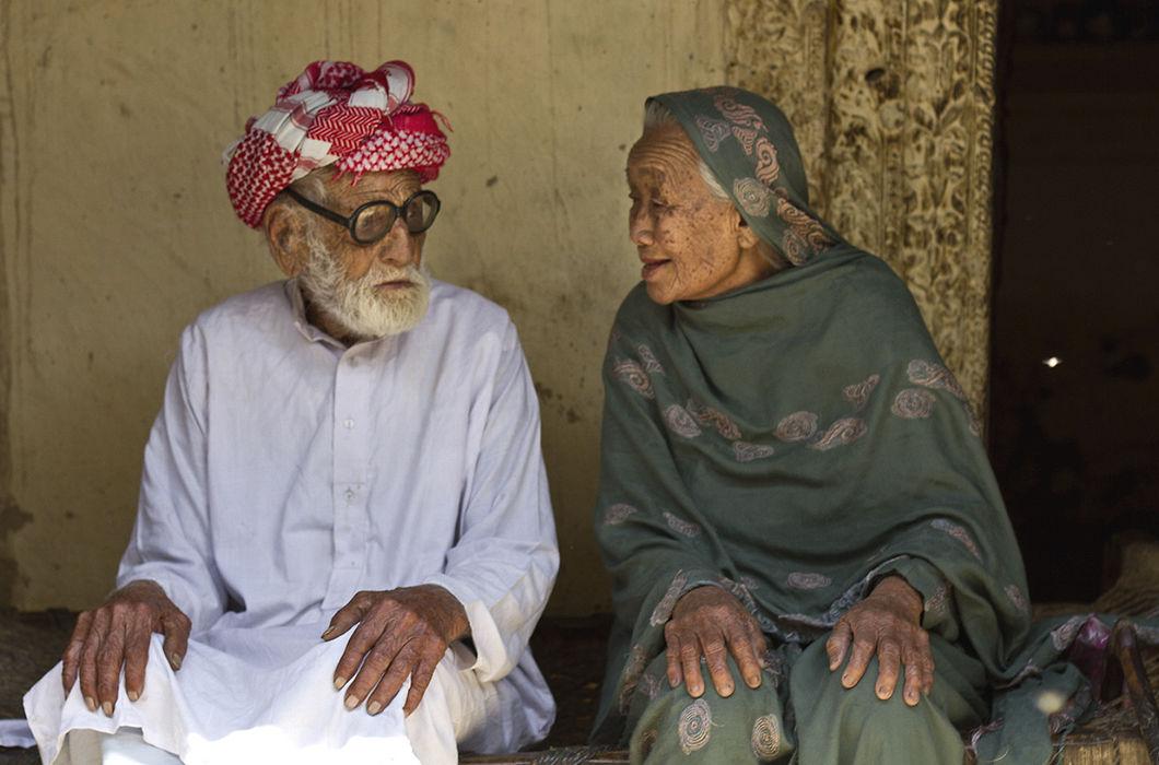 Пенсионеры в Пакистане