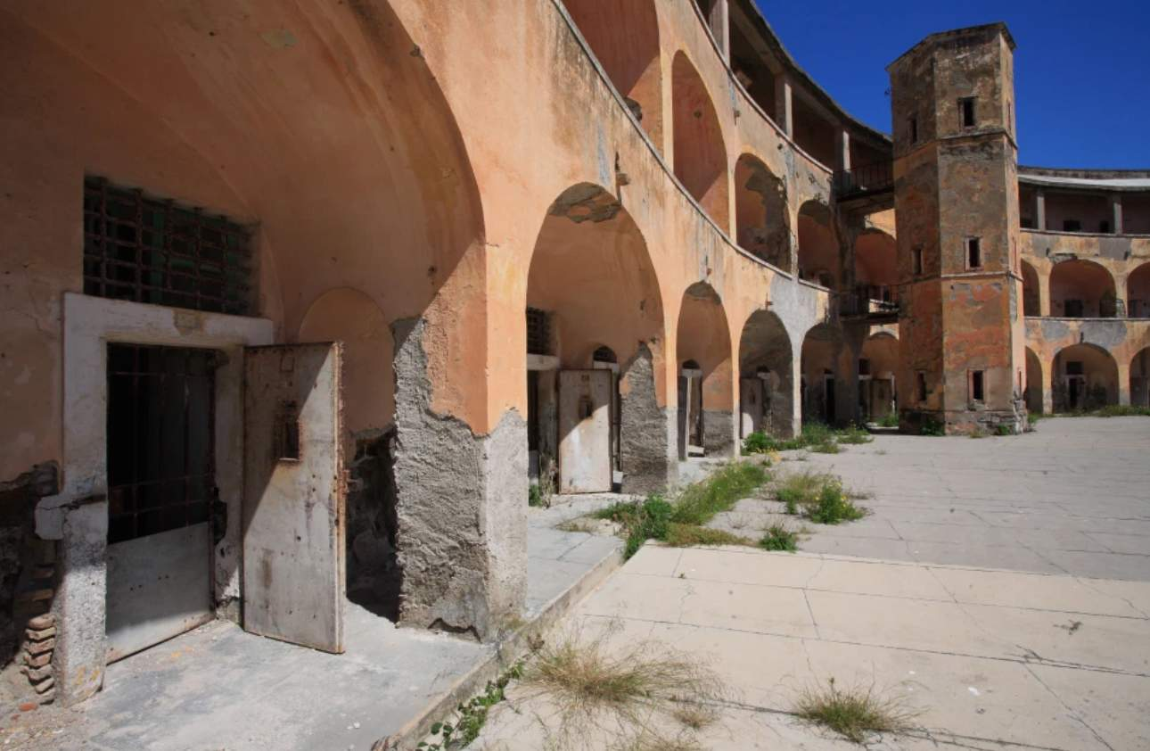 Бывшая итальянская тюрьма