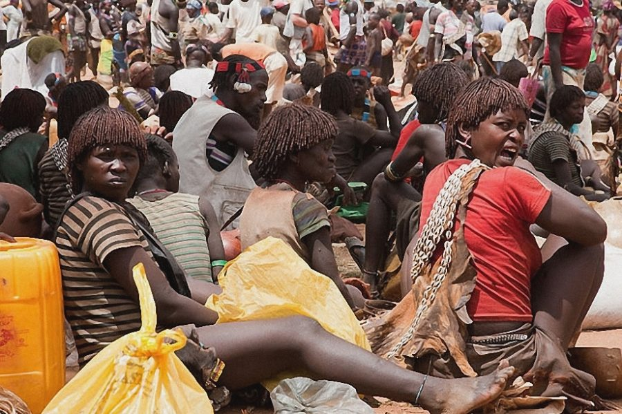 В Эфиопии