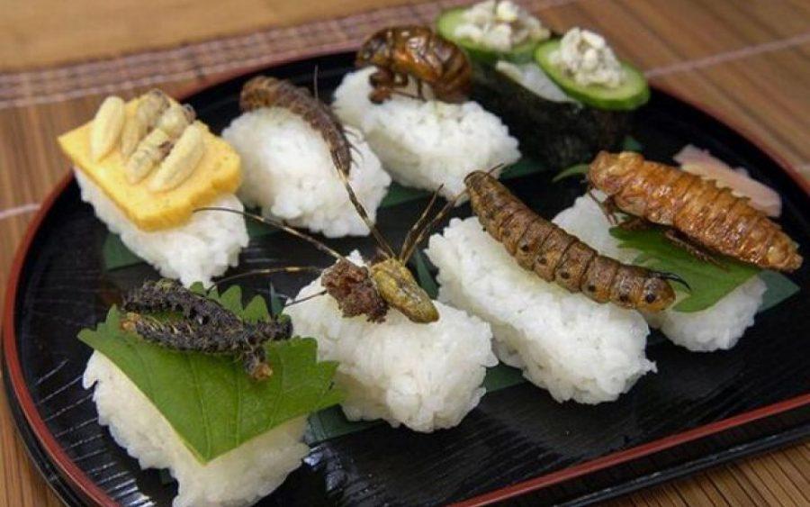 Экзотические блюда в Японии