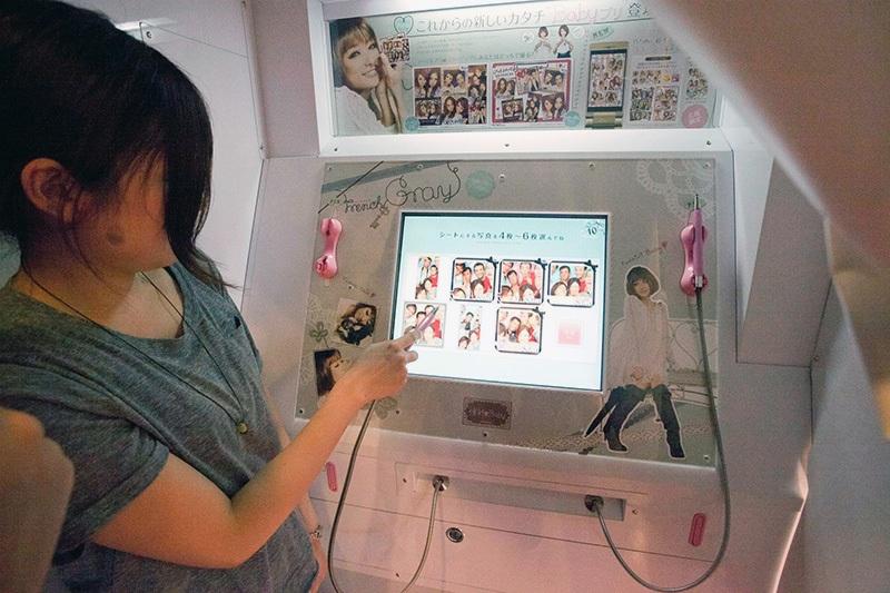 Кабинки для фото в Японии