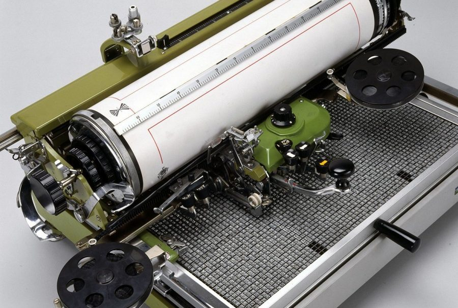 Печатная машинка на китайском языке
