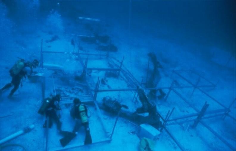 Найденная дорога под водой