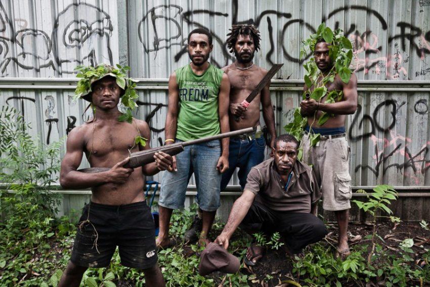 Бандиты в Папуа-Новая Гвинея