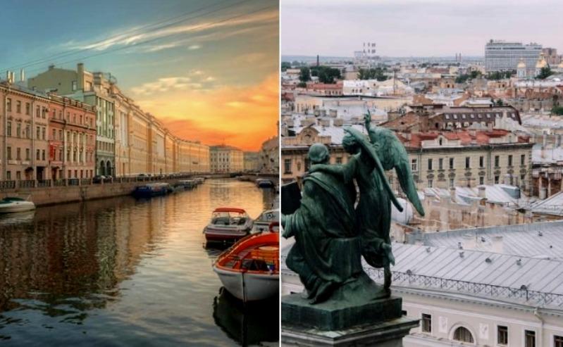 Санкт-Петербург и Венеция