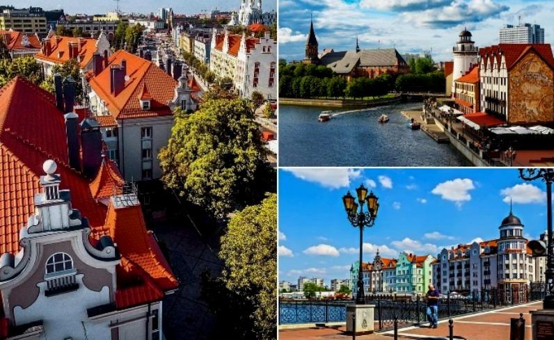 Калининград и европейские города