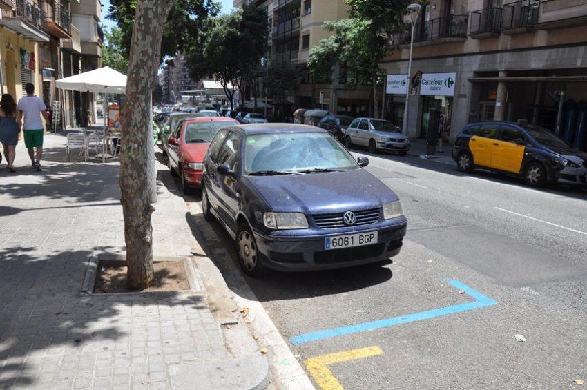 Парковка в Испании
