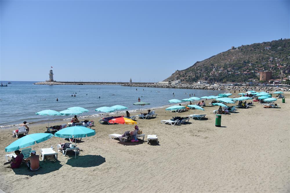Пляж Alanya Belediyesi Halk Plaji