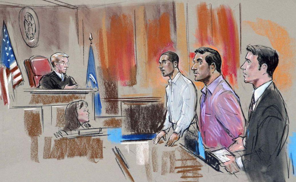 Зарисовки в суде