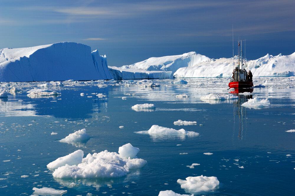 В водах Арктики