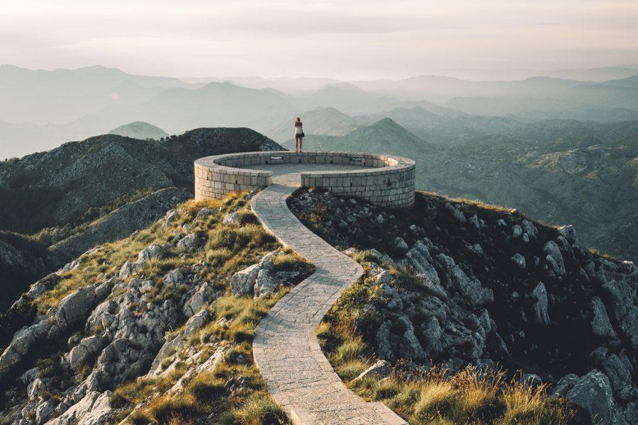 Ловчен гора в Черногории