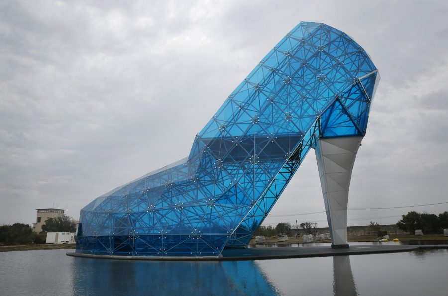 Церковь в виде туфельки