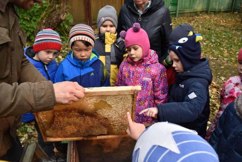 Пчеловодство урок в школе в Башкортостане