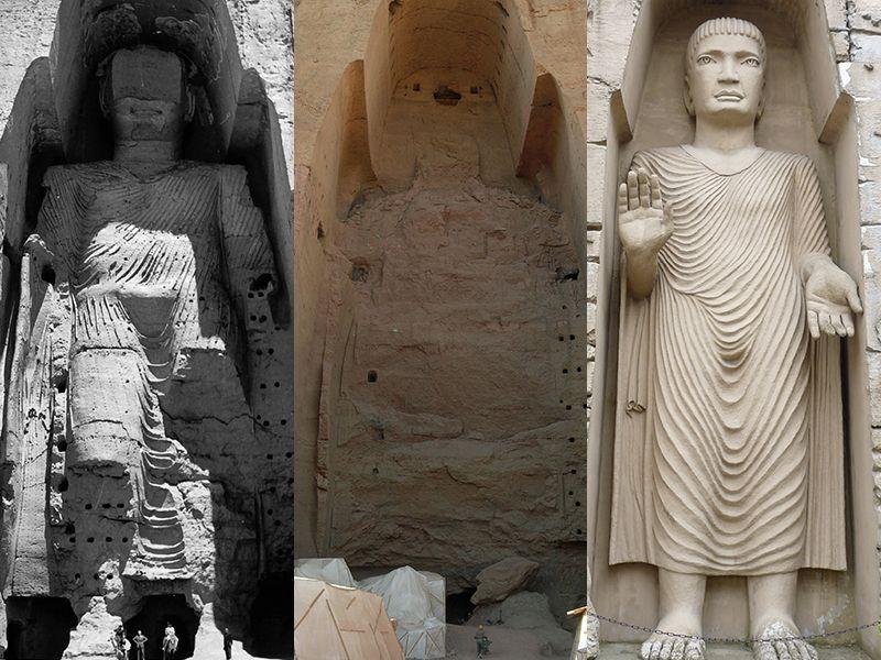 Статуи Будды в Бамианской долине