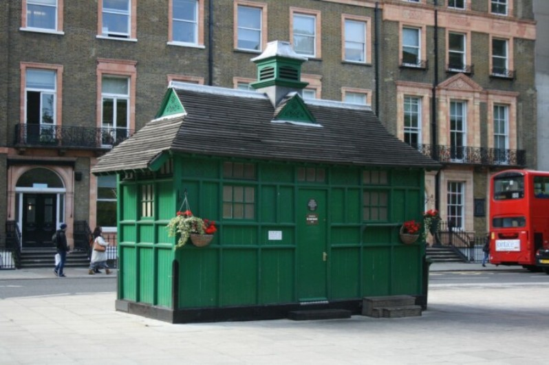 Зеленые домики в Лондоне