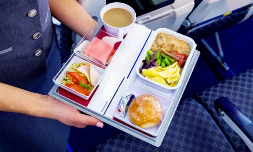 Еда в самолете