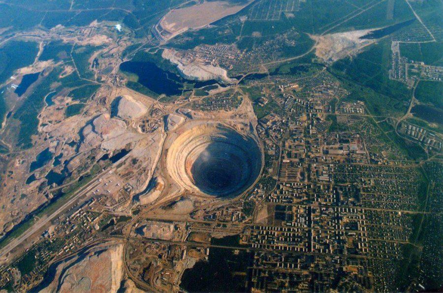 Алмазная шахта Мир