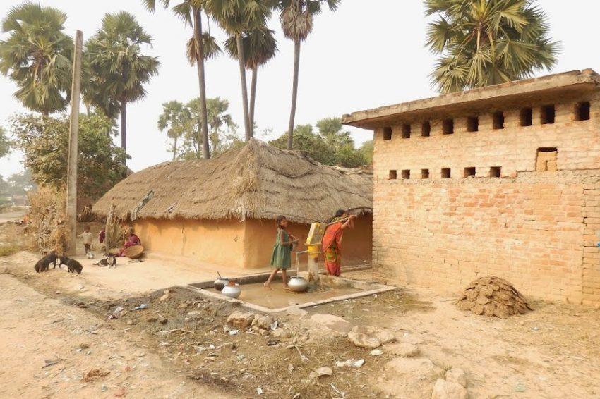 Деревня в Индии